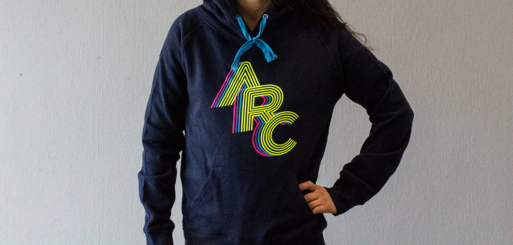 "Women's Pull Over ""ARC"" Hoodie"
