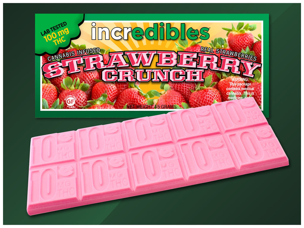 Incredibles - Strawberry Crunch - 100mg