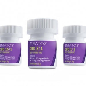 Stratos - 2:1 CBD Tablets