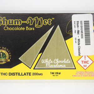 Shum-Met - White Chocolate Macadamia Bar - 200M