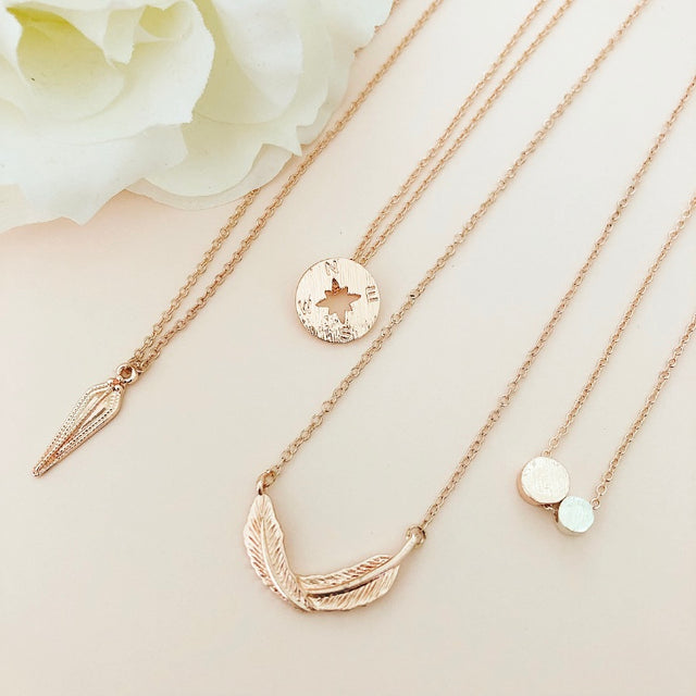 Delicates by Modern Mesh fashion jewelry pieces that are perfectly dainty and made for layering.