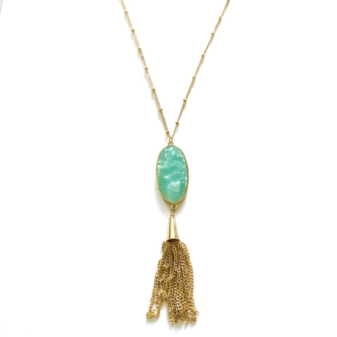 Gia Tassel Necklace