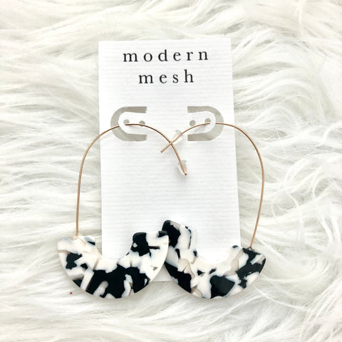 B&W Earrings