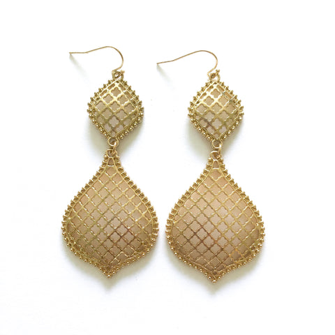 Moroccan 2 Drop Earrings