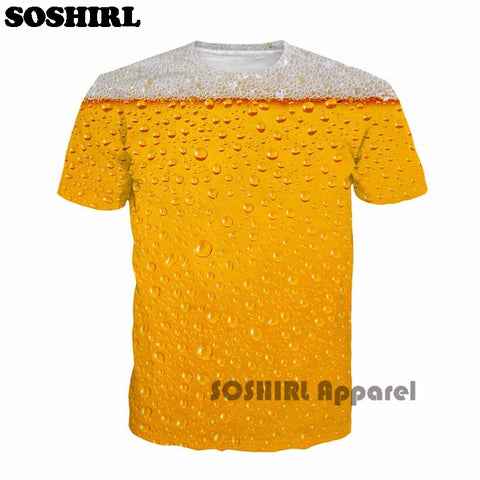Beer Full Print T-Shirt - Get The Gear Now!