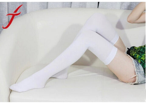Nickel + Shipping Solid Color Thigh High Stockings - Get The Gear Now!