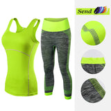 Sleeveless Top & Yoga Pants Set - 2 Piece - Get The Gear Now!