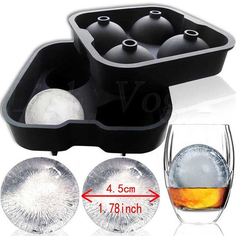 4 Hole Ice Cube Ball Maker - Get The Gear Now!