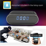 Alarm Clock Hidden Remote Control Mini Camera 720P/108P - Get The Gear Now!