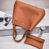 The Roxbury® Leather 2 Piece Hobo Purse