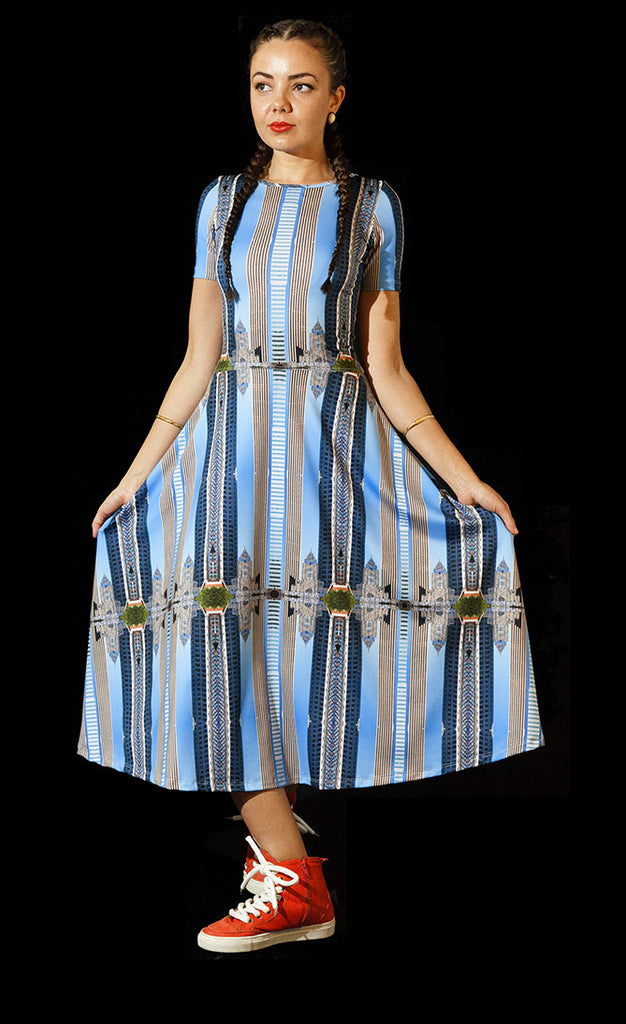 Hope Street Stripe Wonder Dress