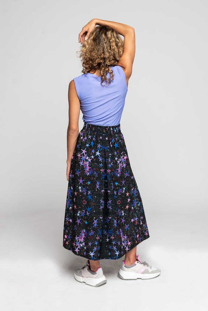 Sea Star Pleated Skirt