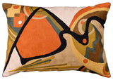 Lumbar Kandinsky Decorative Pillow Cover In The Flow Decorative Wool 14