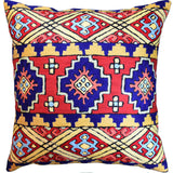 Navajo Tribal Kilim Aztec Scorpion Accent Pillow Cover Southwestern Wool 18x18