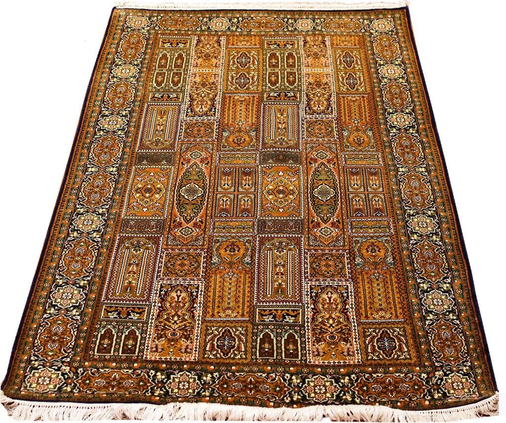 green silk rug ats rugsville antiquity rugs beige wool