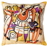 Django s Legacy by Alfred Gockel Accent Pillow Cover Handmade Art Silk 18