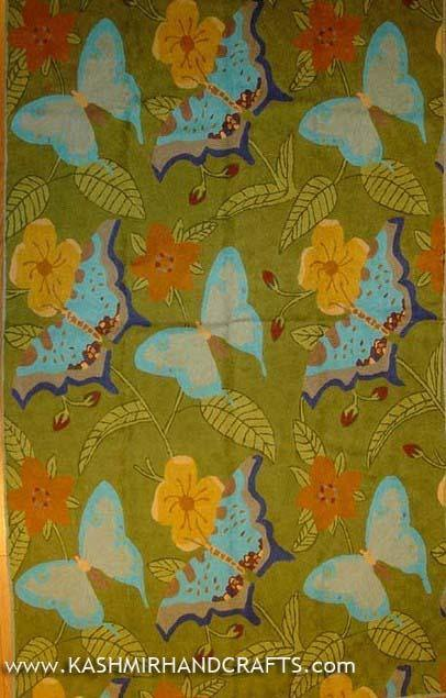 Butterfly Wool Modern Rug / Tapestry 6ft x 4ft