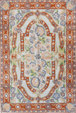 Floral 2ftx3ft Decorative Coral Accent Wall Hanging Tapestry Rug Carpet Art Silk
