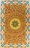 Jewel 3ftx5ft Tapestry Wall Hanging Decorative Art Red Ivory Zardozi Handmade