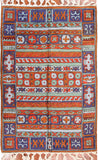 Tribal 2ftx3ft Decorative Aztec II Handmade Wall Hanging Tapestry Rug Art Silk