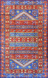 Tribal 3ftx5ft Aztec Blue Red Southwestern II Wall Hanging Tapestry Rug Art Silk