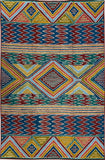 Tribal 6ftx4ft Tapestry Aztec Decorative Wall Hanging Rug Art Carpet Hand Embroidered
