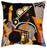 Kandinsky Grand Torre Kiev Pillow Cover Hand Embroidered 18