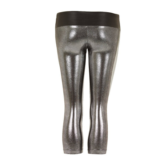 Suki Leatherback 7/8 Leggings in Chrome by SukiSHufu