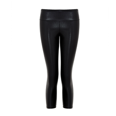 Suki Leatherback 3/4 Leggings in Black