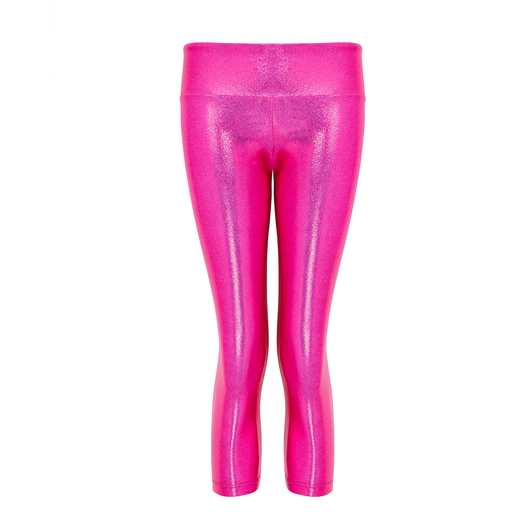 Suki Leatherback 7/8 Leggings in Candy Pink
