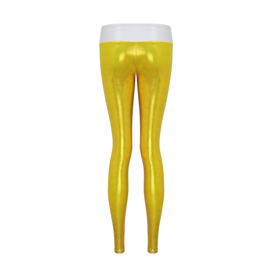 Suki Leatherback Long Leggings in Rio Gold
