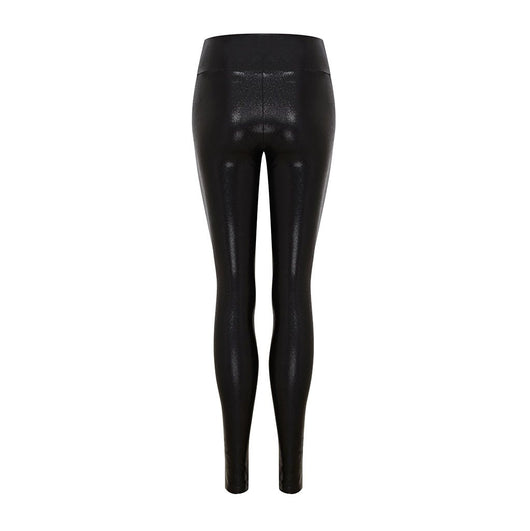 High Waisted Leggings in Black Gloss by SukiShufu
