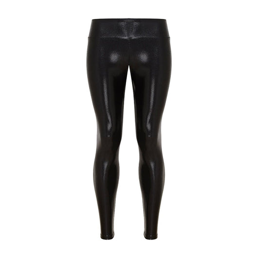 Suki Boy Leatherback Leggings in Black Gloss | Sukishufu