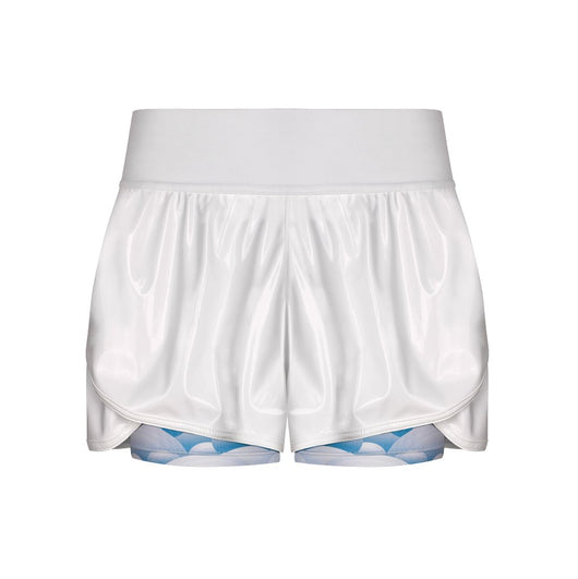 Suki Shunga Shorts in Blue Mountain