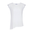 Suki Wasabi Top in White + Silver by SukiShufu | Athluxury