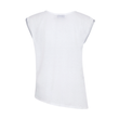 Suki Wasabi Top in White + Silver