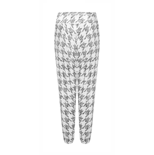 Jog On Jogger in Houndstooth
