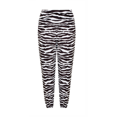 Jog On Jogger in Zebra Pattern | Athluxury by Sukishufu