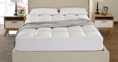 Ultra Soft Microplush Fitted Mattress Topper