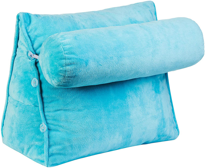 Cheer Collection Wedge Pillow with Detachable Bolster & Backrest