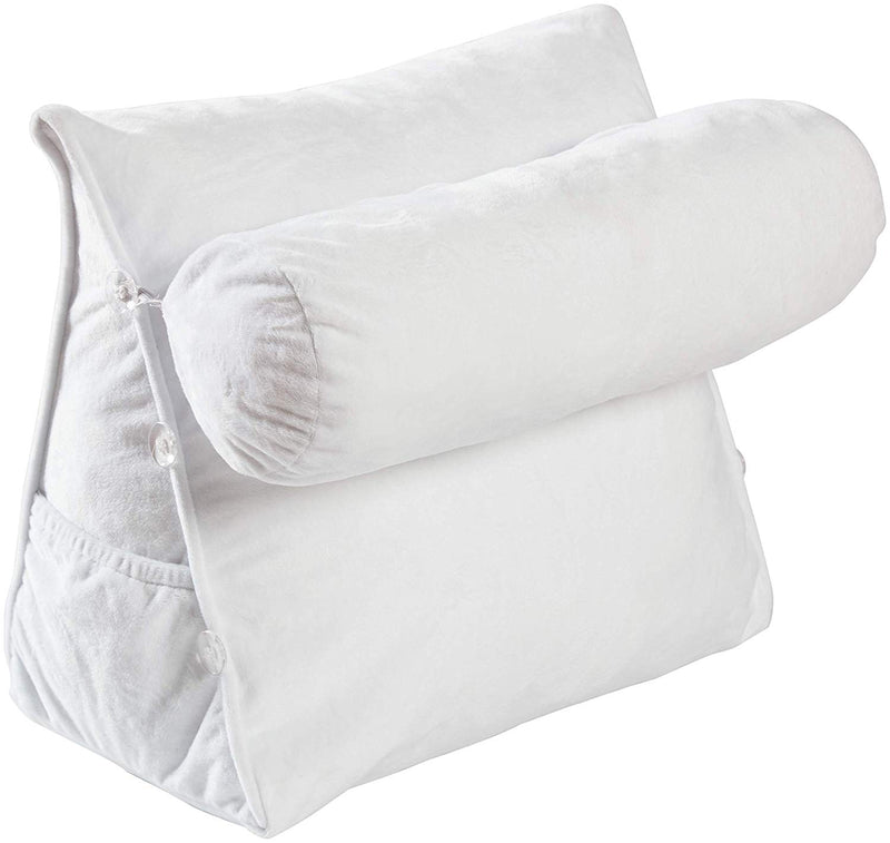 Cheer Collection Wedge Pillow with Detachable Bolster