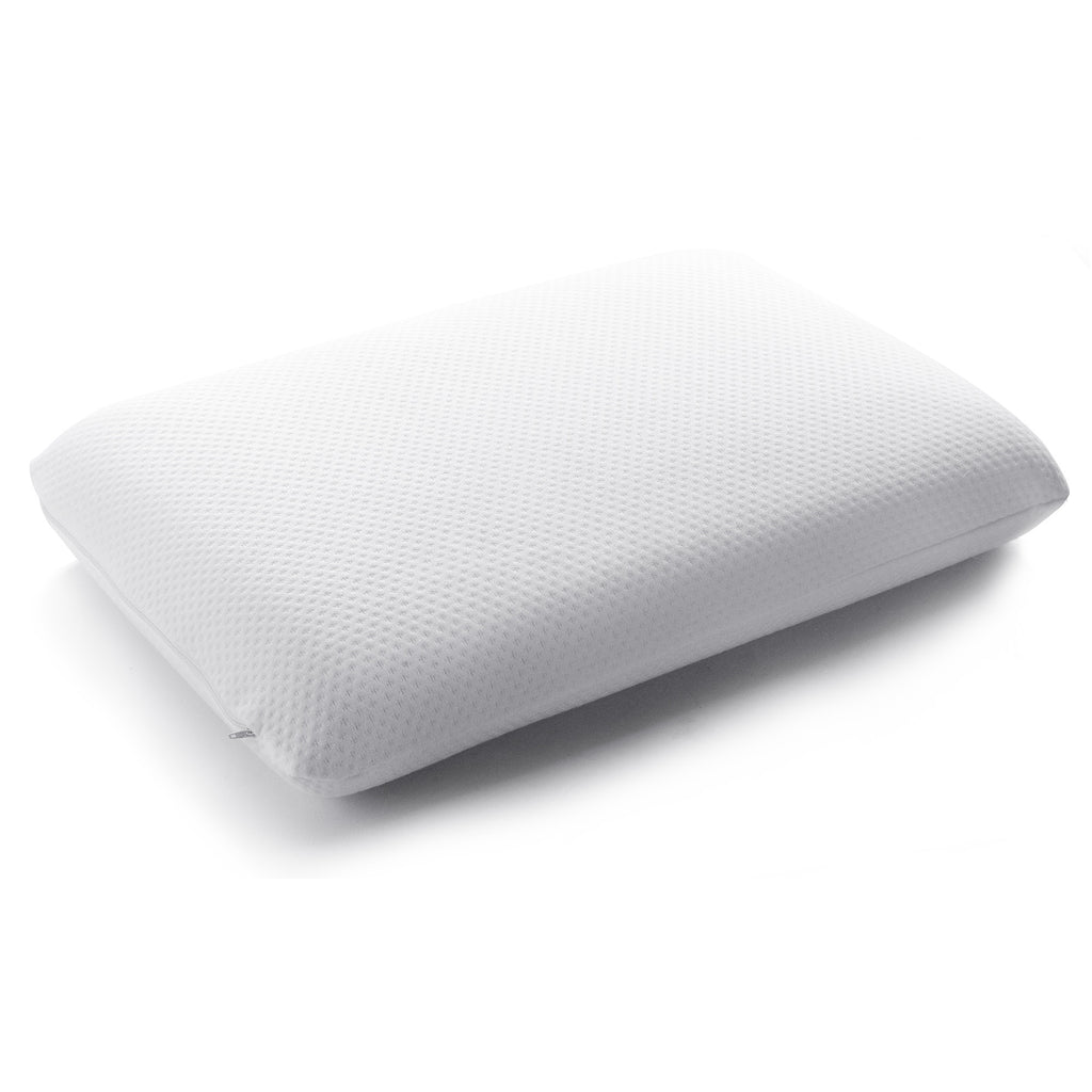 Cheer Collection Conforming Memory Foam Bed Pillow with Breathable Zip-off Cover