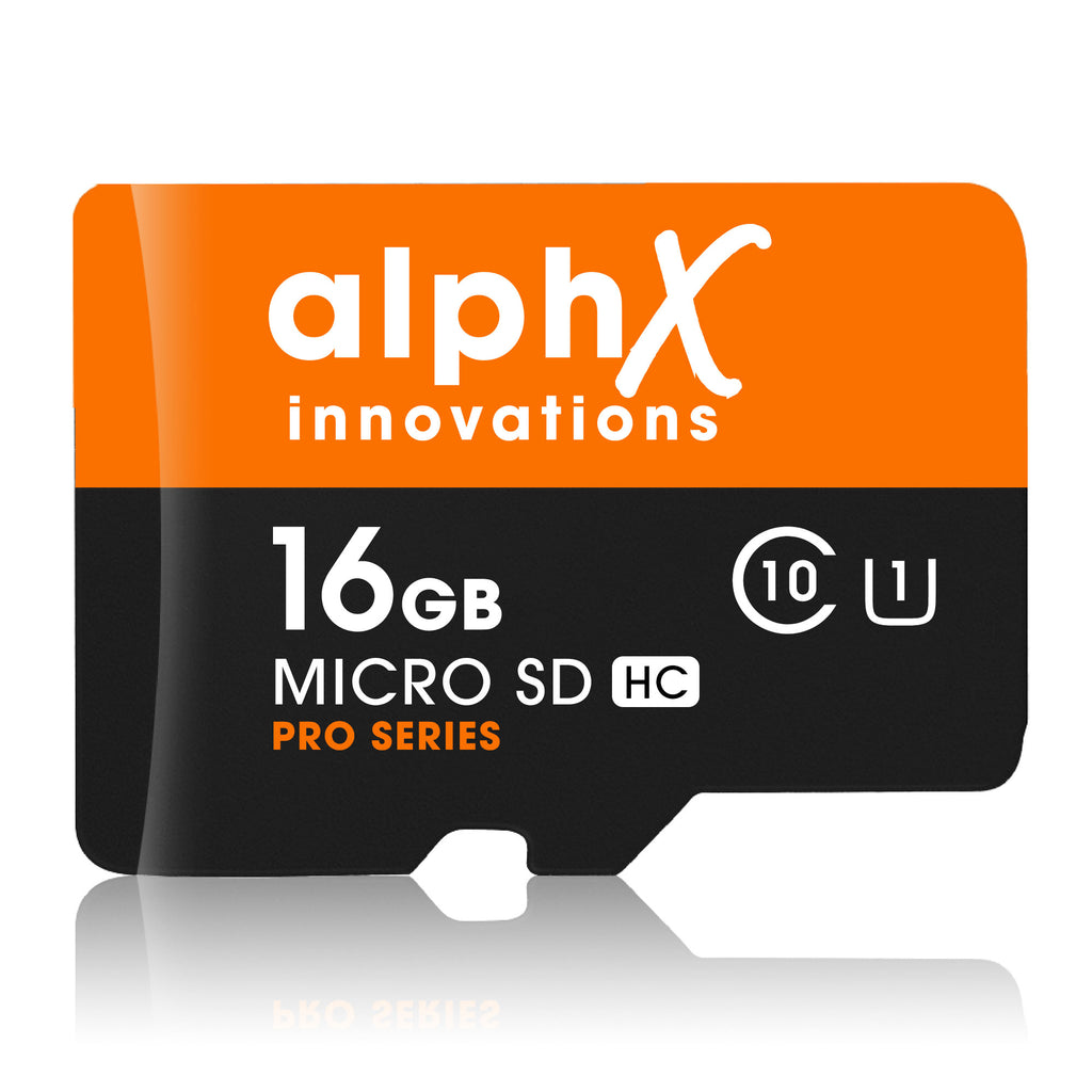 AlphX Innovations 16gb Micro SD Card