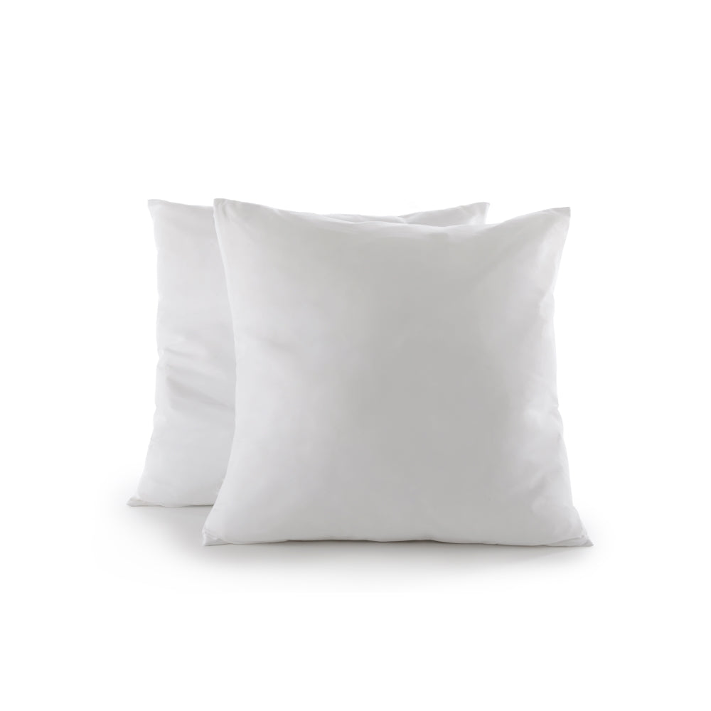 "Cheer Collection Euro Square Pillow 26"" x 26"" (Set of 2)"