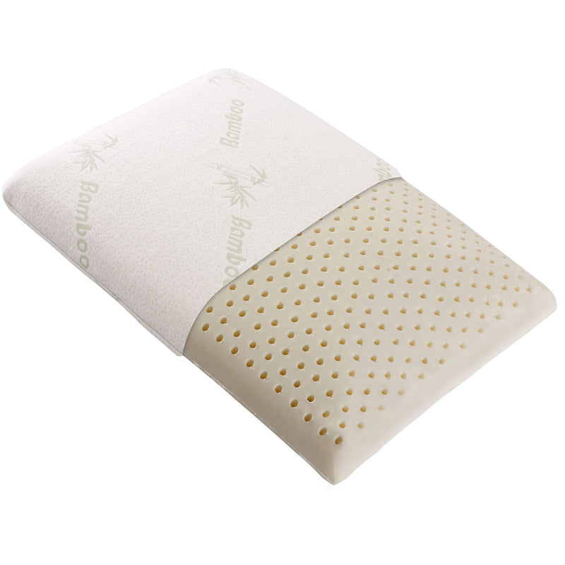 Cheer Collection Latex Memory Foam Pillow