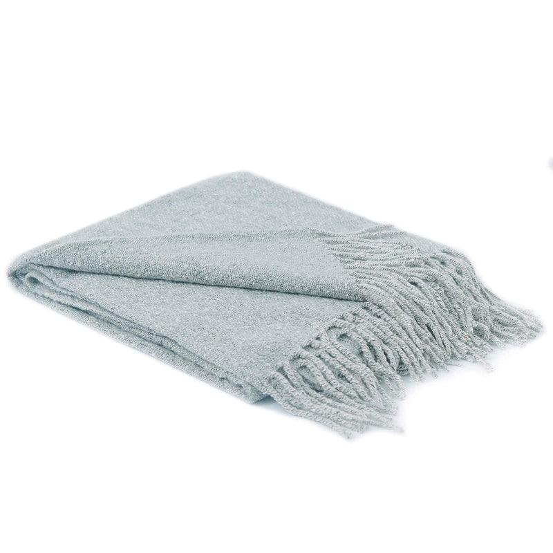 Cheer Collection Ultra Soft Knit Throw Blanket | 100% Acrylic Accent Throw - 50 x 60 inches