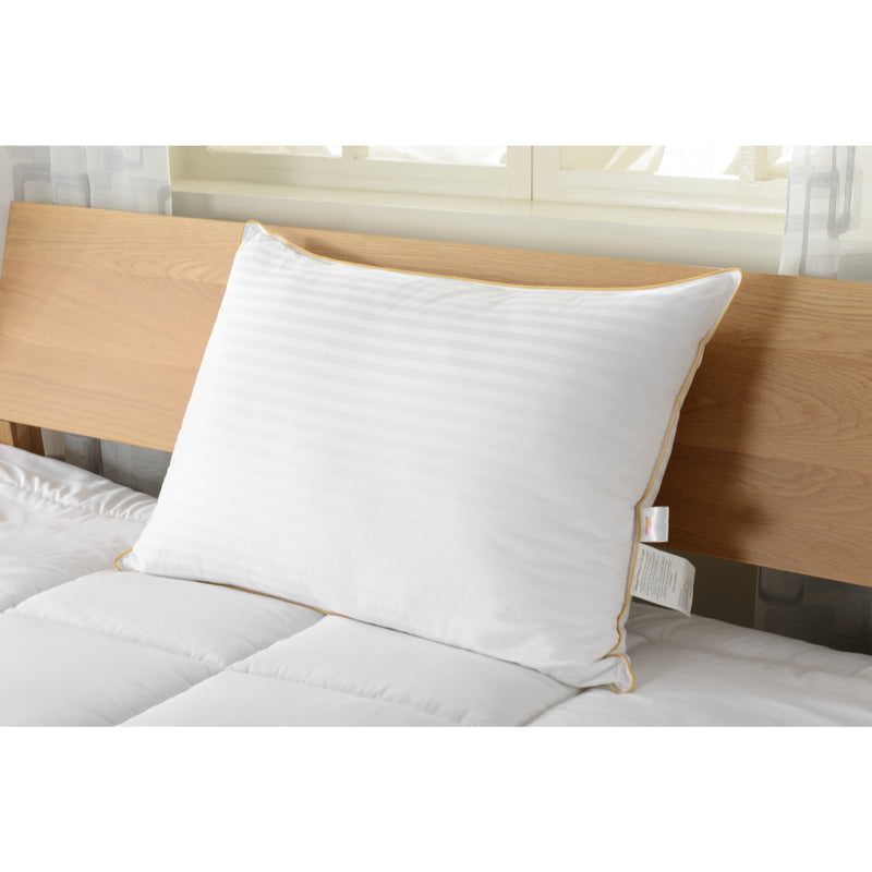 Cheer Collection Goose Down Alternative Striped Pillow - Multiple Sizes