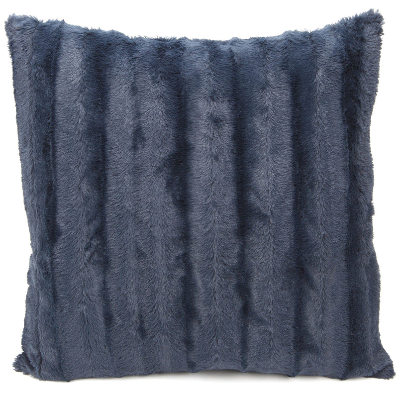 Cheer Collection Faux Fur Throw Pillow Cover - Multiple Colors & Sizes Available