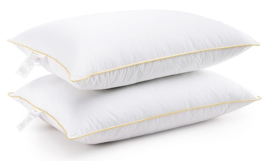 Cheer Collection Hypoallergenic Luxurious Gel Fiber Filled Pillow (Set of 2)