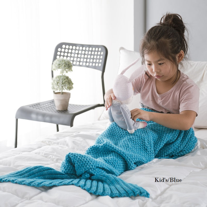 Cheer Collection Children's Mermaid Blankets - Assorted Colors